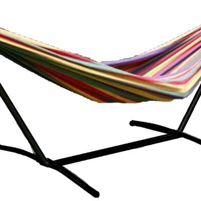 Red Hammock with Stand