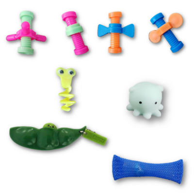 Small Boys Pack of Fidget Toys