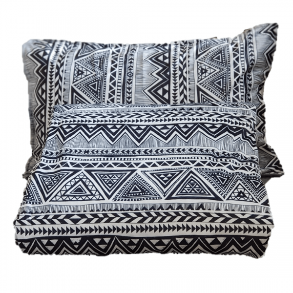 Aztec Tribal Weighted Blanket with Pillow